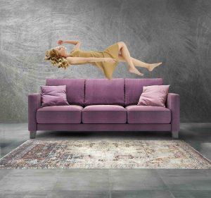 Seally Sofa Convertible DBO West