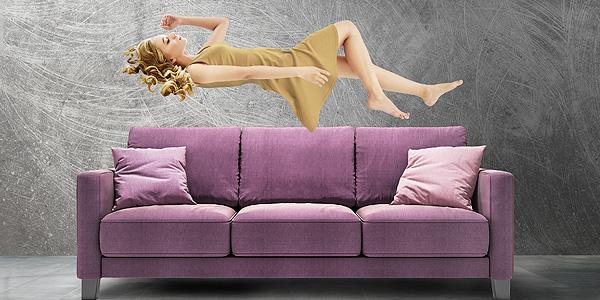 Sealy Drop Back Sofa Bed Sleep - DBO West